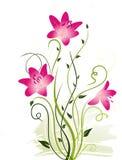 αφηρημένα στοιχεία floral διανυσματική απεικόνιση