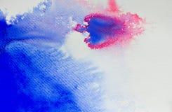 Αφηρημένα σχέδια χρωμάτων υποβάθρου watercolor Στοκ Εικόνες