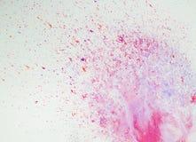 Αφηρημένα σχέδια χρωμάτων υποβάθρου watercolor Στοκ Φωτογραφίες