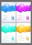 Αφηρημένα σύγχρονα φωτεινά πολύχρωμα ορθογώνια ελεύθερη απεικόνιση δικαιώματος