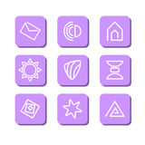 Αφηρημένα σύμβολα Στοκ φωτογραφία με δικαίωμα ελεύθερης χρήσης