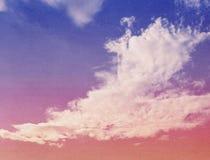 Αφηρημένα σύννεφα φύσης Στοκ φωτογραφίες με δικαίωμα ελεύθερης χρήσης