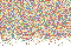 αφηρημένα τετράγωνα ανασκόπησης Διανυσματική ανασκόπηση Στοκ Φωτογραφίες