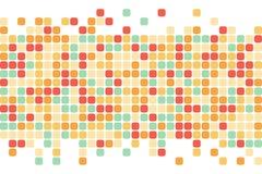 αφηρημένα τετράγωνα ανασκόπησης Διανυσματική ανασκόπηση Στοκ εικόνες με δικαίωμα ελεύθερης χρήσης