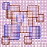 αφηρημένα τετράγωνα ανασκόπησης διανυσματική απεικόνιση