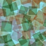 αφηρημένα τετράγωνα προτύπων απεικόνισης digitall Στοκ εικόνα με δικαίωμα ελεύθερης χρήσης