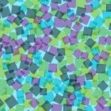 αφηρημένα τετράγωνα προτύπων απεικόνισης digitall Στοκ Εικόνες
