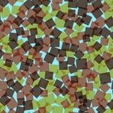 αφηρημένα τετράγωνα προτύπων απεικόνισης digitall Στοκ φωτογραφίες με δικαίωμα ελεύθερης χρήσης