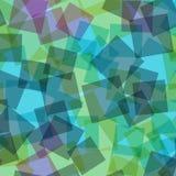 αφηρημένα τετράγωνα προτύπων απεικόνισης digitall Στοκ Φωτογραφία