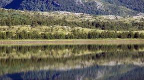 Αφηρημένα τοπίο και νερό Στοκ φωτογραφία με δικαίωμα ελεύθερης χρήσης