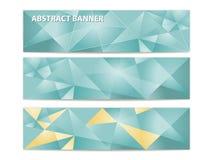 Αφηρημένα τριγωνικά εμβλήματα Στοκ Φωτογραφία