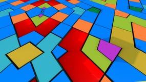 Αφηρημένα υπόβαθρο και χρώματα Στοκ Εικόνες
