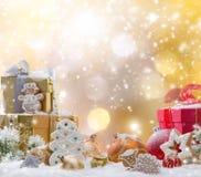 αφηρημένα Χριστούγεννα ανασκόπησης Στοκ Εικόνα