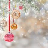 αφηρημένα Χριστούγεννα ανασκόπησης Στοκ Εικόνες