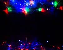 αφηρημένα Χριστούγεννα ανασκόπησης Στοκ Φωτογραφία