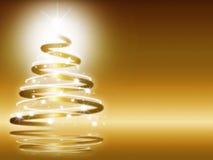 αφηρημένα Χριστούγεννα τρί&alph Στοκ εικόνα με δικαίωμα ελεύθερης χρήσης