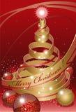 αφηρημένα Χριστούγεννα Στοκ Εικόνες