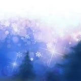 Αφηρημένα Χριστούγεννα Στοκ Φωτογραφία