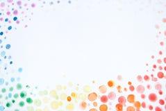 Αφηρημένα χρωματισμένα χέρι υπόβαθρα Watercolor Στοκ εικόνες με δικαίωμα ελεύθερης χρήσης