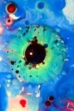 Αφηρημένα χρώματα και υγρά Στοκ εικόνα με δικαίωμα ελεύθερης χρήσης