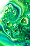 Αφηρημένα χρώματα και υγρά Στοκ Φωτογραφίες