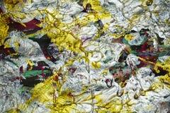 Αφηρημένα χρώματα, παφλασμοί, χρώμα watercolor κτυπημάτων βουρτσών Αφηρημένο υπόβαθρο χρωμάτων Watercolor Στοκ Εικόνες