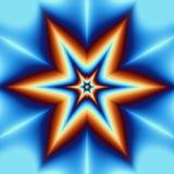 Αφηρημένα ψάρια αστεριών ελεύθερη απεικόνιση δικαιώματος