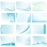 Αφηρημένα διανυσματικά πρότυπα ανασκόπησης Στοκ Εικόνα
