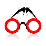 αφηρημένα eyeglasses Στοκ Φωτογραφίες