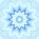 Αφηρημένα snowflakes σχεδίων υποβάθρου Χριστουγέννων Αντανάκλαση συμμετρίας ελεύθερη απεικόνιση δικαιώματος