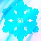 Αφηρημένα snowflakes υποβάθρου για το σχέδιο Στοκ Εικόνες