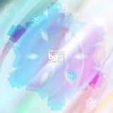 Αφηρημένα snowflakes υποβάθρου για το σχέδιο Στοκ φωτογραφία με δικαίωμα ελεύθερης χρήσης