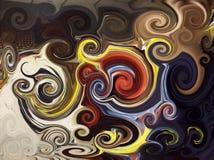 αφηρημένα twirls ανασκόπησης Στοκ Εικόνες