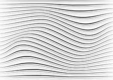 Αφηρημένες άσπρες και γκρίζες τυχαίες χαοτικές συστάσεις γραμμών καμπυλών gru απεικόνιση αποθεμάτων