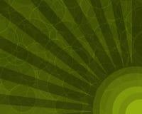 αφηρημένες ακτίνες κύκλων αναδρομικές Στοκ Εικόνες