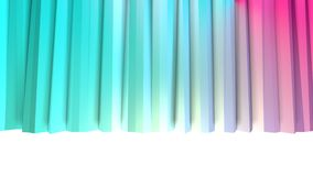 Αφηρημένες απλές μπλε ρόδινες χαμηλές πολυ τρισδιάστατες κουρτίνες ως δημοφιλές περιβάλλον Μαλακό χαμηλό πολυ υπόβαθρο κινήσεων τ διανυσματική απεικόνιση