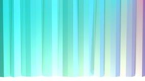 Αφηρημένες απλές μπλε ρόδινες χαμηλές πολυ τρισδιάστατες κουρτίνες ως κυβερνητικό περιβάλλον Μαλακό χαμηλό πολυ υπόβαθρο κινήσεων απεικόνιση αποθεμάτων