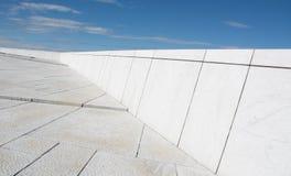 Αφηρημένες αρχιτεκτονικές γραμμές Στοκ Φωτογραφίες