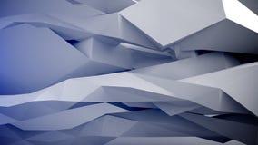αφηρημένες γεωμετρικές μορφές Στοκ Εικόνες