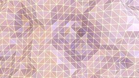 Αφηρημένες γεωμετρικές πορφυρές τρίγωνα και γραμμές υποβάθρου διανυσματική απεικόνιση
