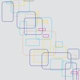 Αφηρημένες γραμμές. Διανυσματική απεικόνιση Στοκ Φωτογραφία