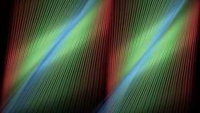 Αφηρημένες γραμμές μετακίνησης κουρτινών διανυσματική απεικόνιση