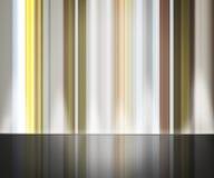 Αφηρημένο υπόβαθρο γραμμών με την αντανάκλαση Στοκ φωτογραφία με δικαίωμα ελεύθερης χρήσης