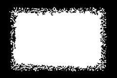 Αφηρημένες διακοσμητικές μαύρες & άσπρες σύνορα φωτογραφιών/άκρη Κείμενο τύπων μέσα, χρήση ως επικάλυψη ή για τη μάσκα στρώματος/ ελεύθερη απεικόνιση δικαιώματος