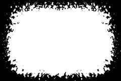 Αφηρημένες διακοσμητικές μαύρες & άσπρες σύνορα φωτογραφιών/άκρη Κείμενο τύπων μέσα, χρήση ως επικάλυψη ή για τη μάσκα στρώματος/ διανυσματική απεικόνιση