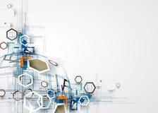 Αφηρημένες επιχείρηση υποβάθρου τεχνολογίας & κατεύθυνση ανάπτυξης απεικόνιση αποθεμάτων