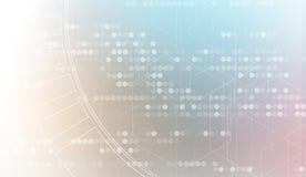 Αφηρημένες επιχείρηση υποβάθρου τεχνολογίας & κατεύθυνση ανάπτυξης Στοκ Εικόνα
