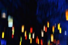 αφηρημένες ζωηρόχρωμες γρ& Στοκ φωτογραφία με δικαίωμα ελεύθερης χρήσης
