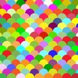 Αφηρημένες ζωηρόχρωμες κλίμακες υποβάθρου Στοκ Φωτογραφίες