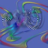 Αφηρημένες ζωηρόχρωμες μορφές διανυσματική απεικόνιση